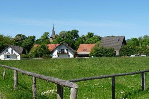 Ferienhaus Sietow Müritz Ortsbild