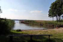 Ferienwohnung Vollrathsruhe Malchiner See Badestelle