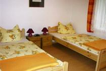 Ferienwohnung Vollrathsruhe Malchiner See Schlafzimmer