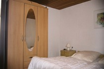 Ferienhaus in Woldzegarten in der Mecklenburgischen Seenplatte Schlafzimmer