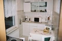 Ferienhaus in Woldzegarten in der Mecklenburgischen Seenplatte Küche