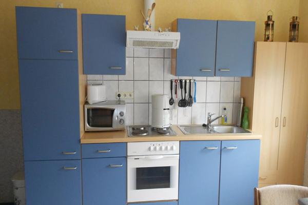 Ferienwohnung Klein Luckow Mecklenburgische Seenplatte Küche