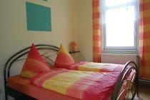 Ferienwohnung Klein Luckow Mecklenburgische Seenplatte Schlafzimmer