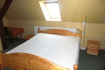 Ferienhaus am See Ulrichshusen Schlafzimmer