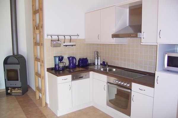 Ferienhaus Lenz Plauer See Küche