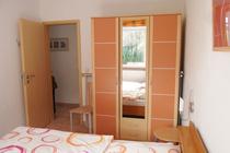 Ferienhaus Lenz Plauer See Schlafzimmer