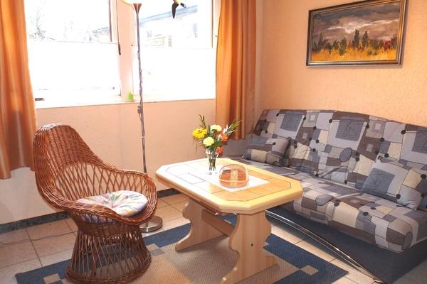 Ferienhaus Waren Müritz Couch