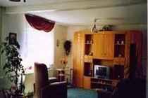 Ferienhaus Malchow Fleesensee Wohnzimmer
