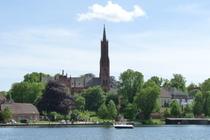 Ferienwohnung Malchow Wassergrundstück Malchower See Kloster Kirche