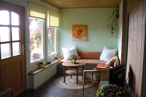 Ferienhaus Alt Rehse Tollensesee Wohnbereich