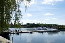 Malchow Fleesensee Hafen, Malchower See