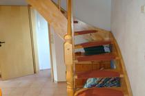 Ferienhaus Untergöhren Fleesensee Treppe
