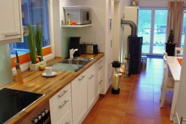Ferienhaus Stuer Plauer See Küche